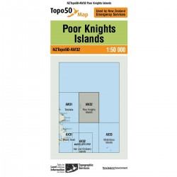 Topo50 AW32 Poor Knights Island