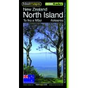 North Island NZ Pathfinder Map 110