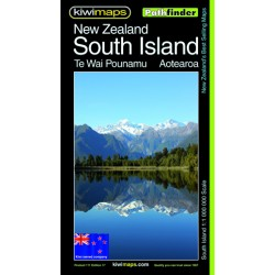 South Island NZ Pathfinder Map 111