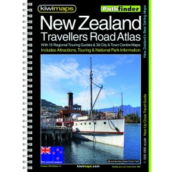 NZ Complete Drivers Atlas A4 Bookmap 204