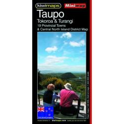Taupo Tokoroa Turangi Minimap 26