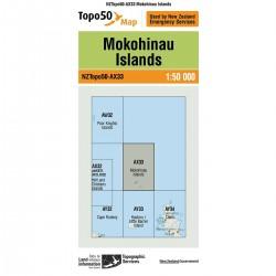 Topo50 AX33 Mokohinau Island