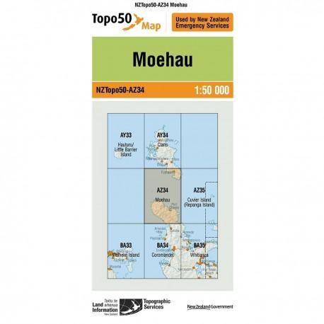Topo50 AZ34 Moehau