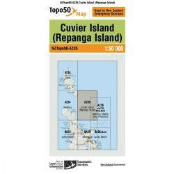 Topo50 AZ35 Cuvier Island (Repanga Island)