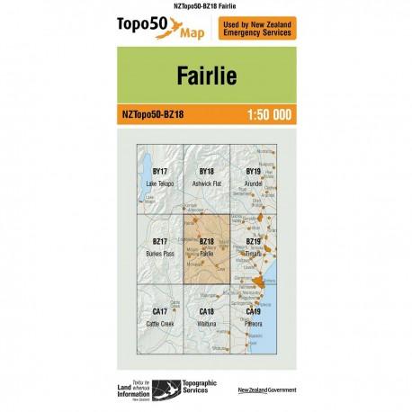 Topo50 BZ18 Fairlie