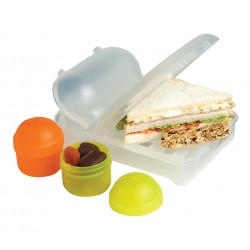 Mini Nude Food Movers Rubbish Free Lunch Box