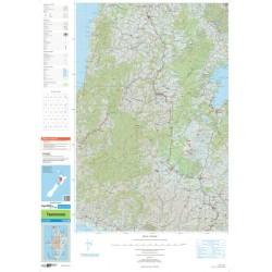 Topo250-09 Taumaranui Map