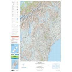 Topo250-22 Timaru Map