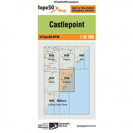 Topo50 BP36 Castlepoint