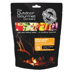 Outdoor Gourmet Company Venison & Rice Noodle Stirfry