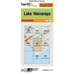 Topo50 BQ33 Lake Wairarapa