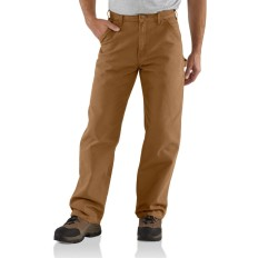 Carhartt Washed-Duck Work Dungaree, Carhartt Brown