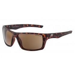 Dirty Dog Primp Sunglasses - Satin Tortoise Shell Frames with Brown Polarized Lens