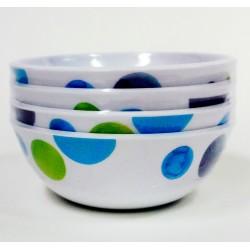 Smash Melamix Watermark Bowl - set of 4