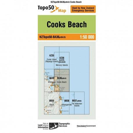 Topo50 BA36 Cooks Beach