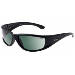 Dirty Dog Banger Black with Green Polarized Lens