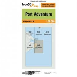 Topo50 CJ10 Port Adventure