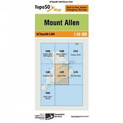 Topo50 CJ09 Mount Allen