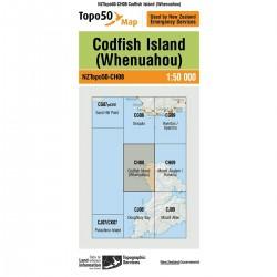 Topo50 CH08 Codfish Island (Whenuahou)