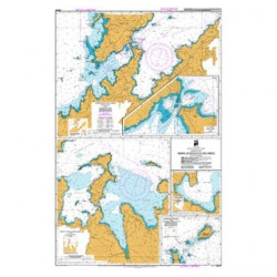 NZ 6151 Hydrographic Nautical Chart- Plans in the Marlborough Sounds