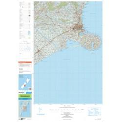 Topo250-23 Christchurch Map