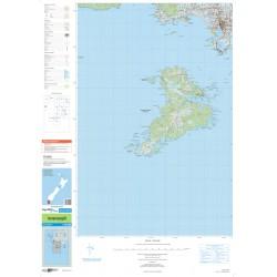 NZ Topo 250 Map 29 - Invercargill
