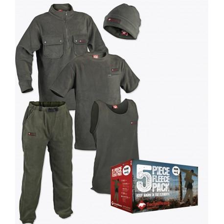 Technifleece Mens 6 Piece Fleece Pack