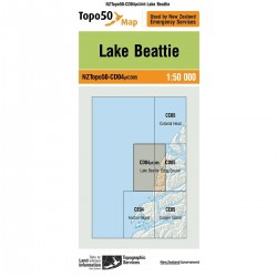 Topo50 CD04 Lake Beattie