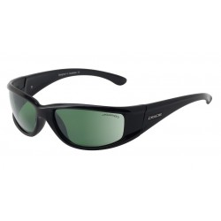 Dirty Dog Banger, Black Frames with Green Polarised Lens
