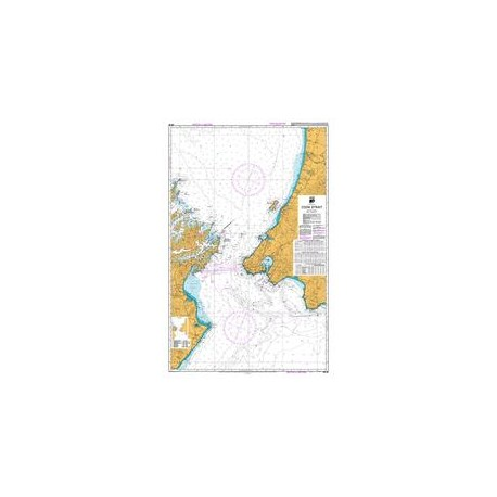 NZ 46 Hydrographic Nautical Chart- Cook Strait