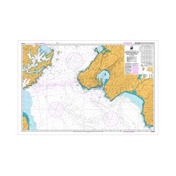 NZ 463 Hydrographic Nautical Chart- Approaches to Wellington