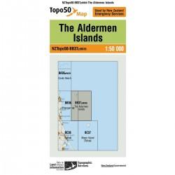 Topo50 BB37 The Aldermen Islands