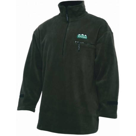 Ridgeline Micro Fleece Long Sleeve Shirt - Olive