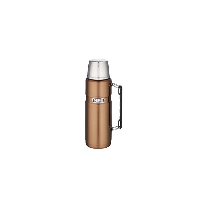 thermos flask stainless steel copper 1 2 litres. Black Bedroom Furniture Sets. Home Design Ideas