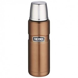 Thermos Stainless Steel King Copper Flask 470ml