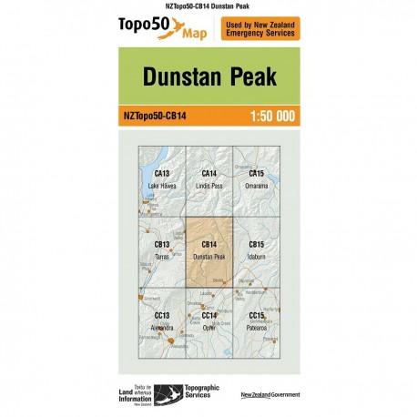 Topo50 CB14 Dunstan Peak