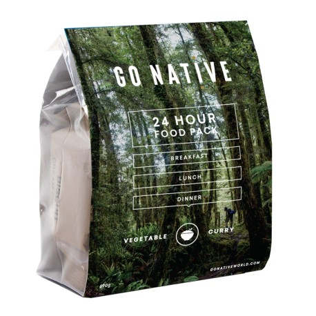 Go Native Vegetable Curry Food pack