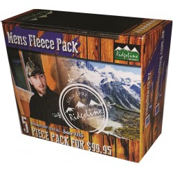 Ridgeline Mens 5 Piece Fleece Pack