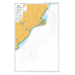 NZ 66 Hydrographic Nautical Chart- Katiki Point to Nugget Point