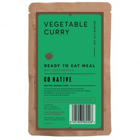 Go Native Vegetable Curry