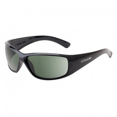 Dirty Dog Safety Glasses Gangster, Black Frames with Green Protective Lens