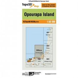 Topo50 BG30 Opourapa Island