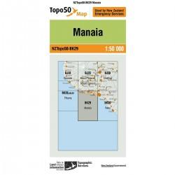 Topo50 BK29 Manaia