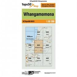Topo50 BH31 Whangamomona