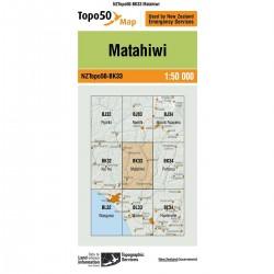 Topo50 BK33 Matahiwi