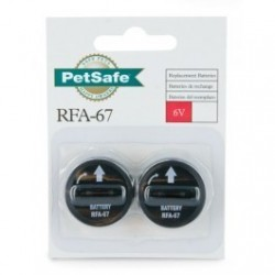 PetSafe 6-Volt Battery 2-Pack (RFA-67D-11)