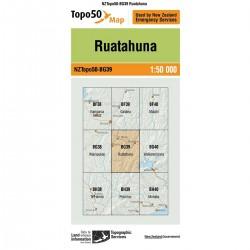 Topo50 BG39 Ruatahuna