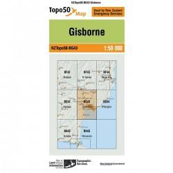 Topo50 BG43 Gisborne