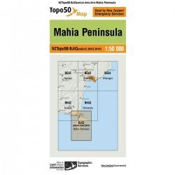 Topo50 BJ43 Mahia Peninsula