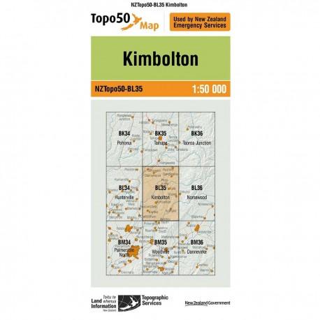 Topo50 BL35 Kimbolton